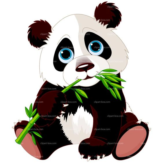 Panda clipart banner transparent stock CLIPART PANDA EATING BAMBOO | Royalty free vector design ... banner transparent stock