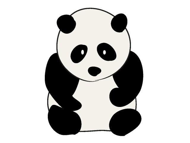Panda clipart graphic download Red panda clipart free clipart images clipartwiz - Clipartix graphic download