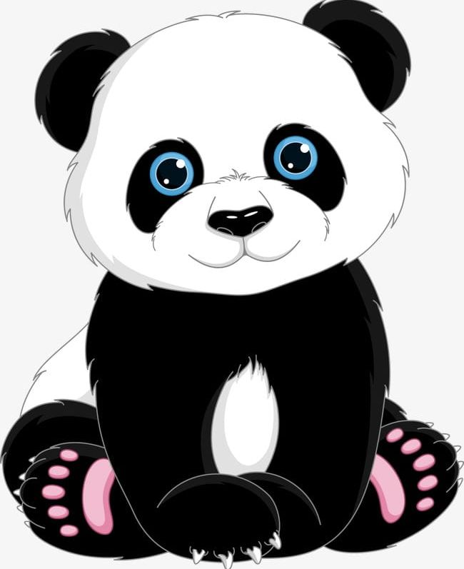 Panda clipart cute png freeuse stock Cute Cartoon Panda PNG, Clipart, Animal, Cartoon, Cartoon ... png freeuse stock