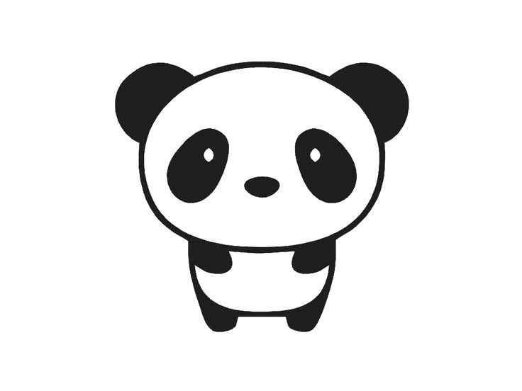 Panda clipart cute clip free Collection of Cute panda clipart | Free download best Cute ... clip free