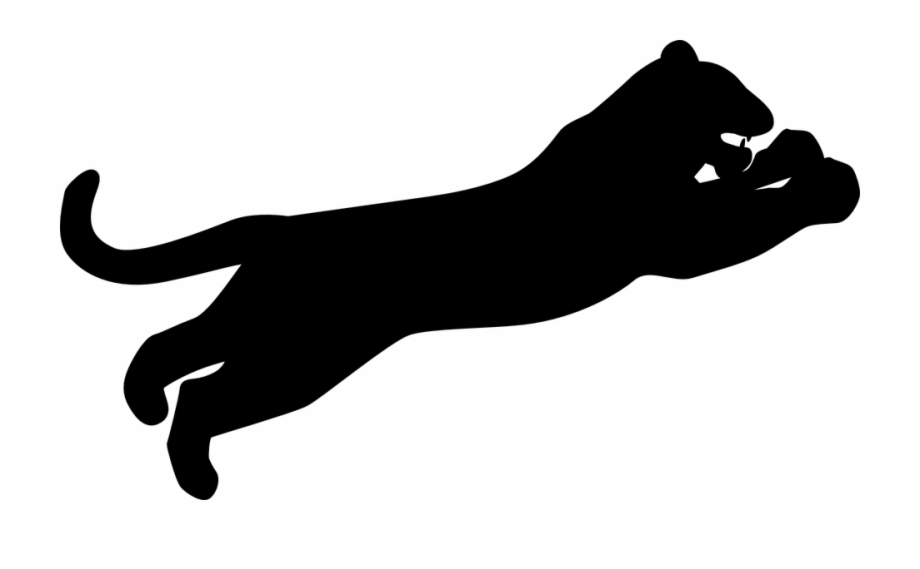 Pannther clipart vector black and white download Tiger Png Clipart Png - Panther Clipart Free PNG Images ... vector black and white download