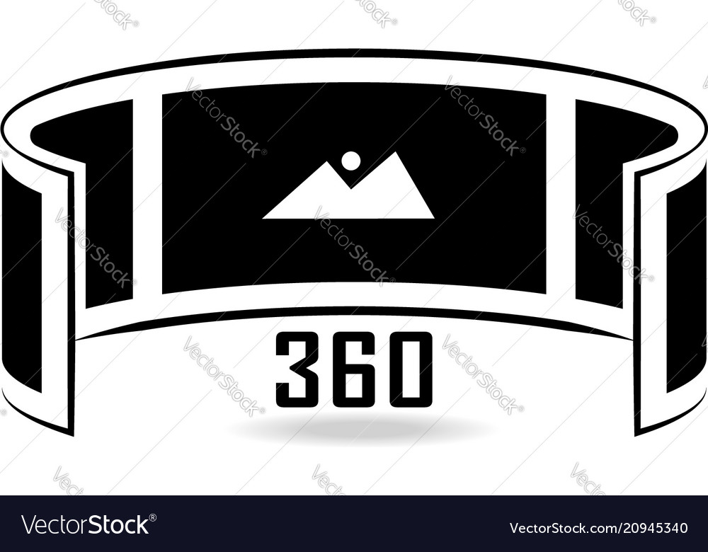 Panorama 360 marker clipart download banner royalty free download Panorama view banner royalty free download