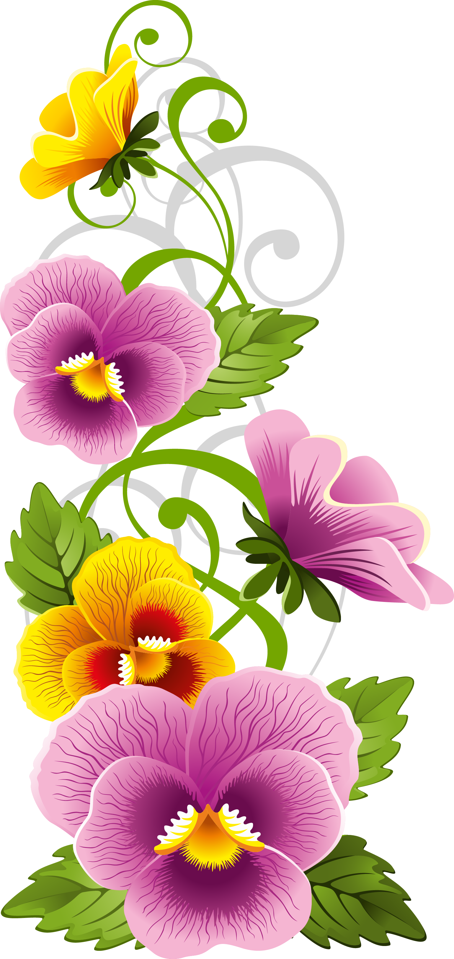 Pansy flower clipart clip stock 0_8f141_1e55aaf1_orig 1,538×3,24 7 pixels | Paint draw I must know ... clip stock
