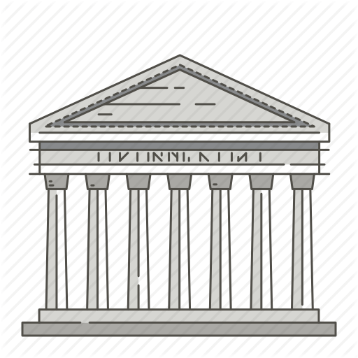 Pantheon clipart png free stock Building Cartoon clipart - Architecture, Line, Product ... png free stock