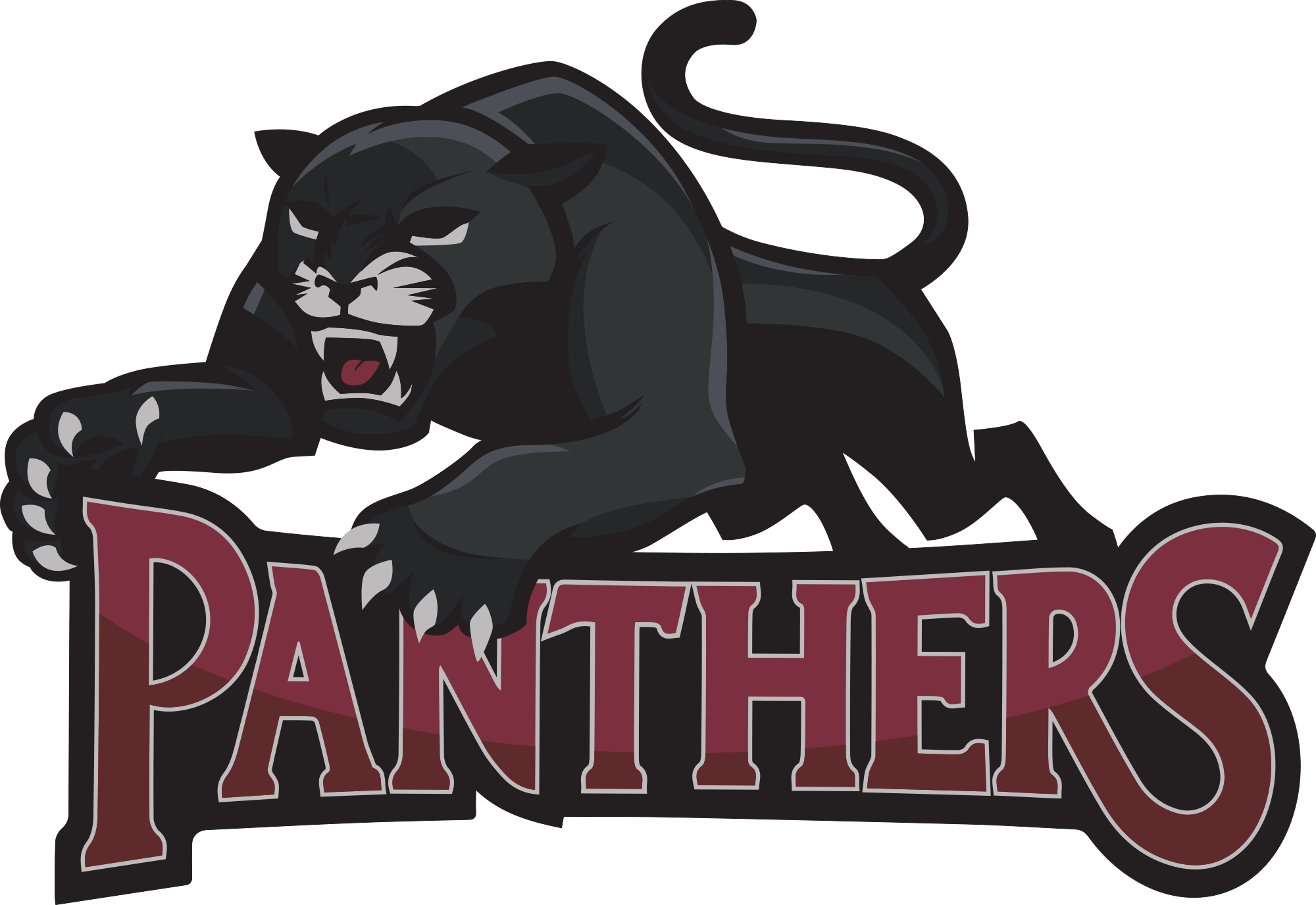 Panthers basketball clipart transparent Athletics | Northeast Bradford School District transparent