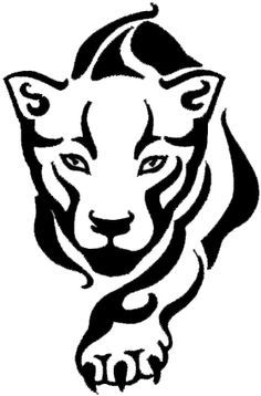 Panther face clipart tribal clip art library library Panther Face Clipart | Free download best Panther Face ... clip art library library