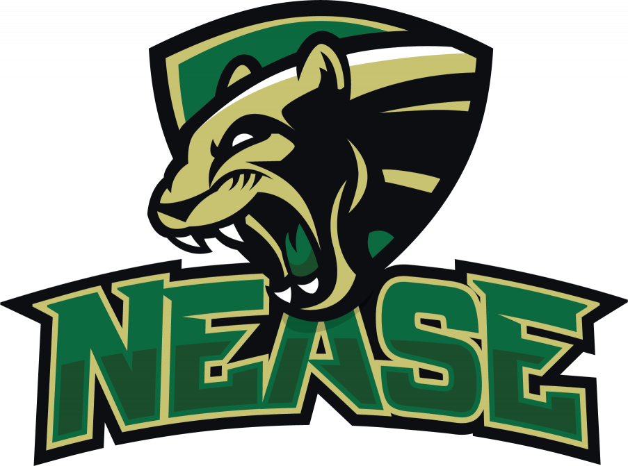 Panther with football clipart graphic transparent About Nease Football – Home of the Panthers graphic transparent