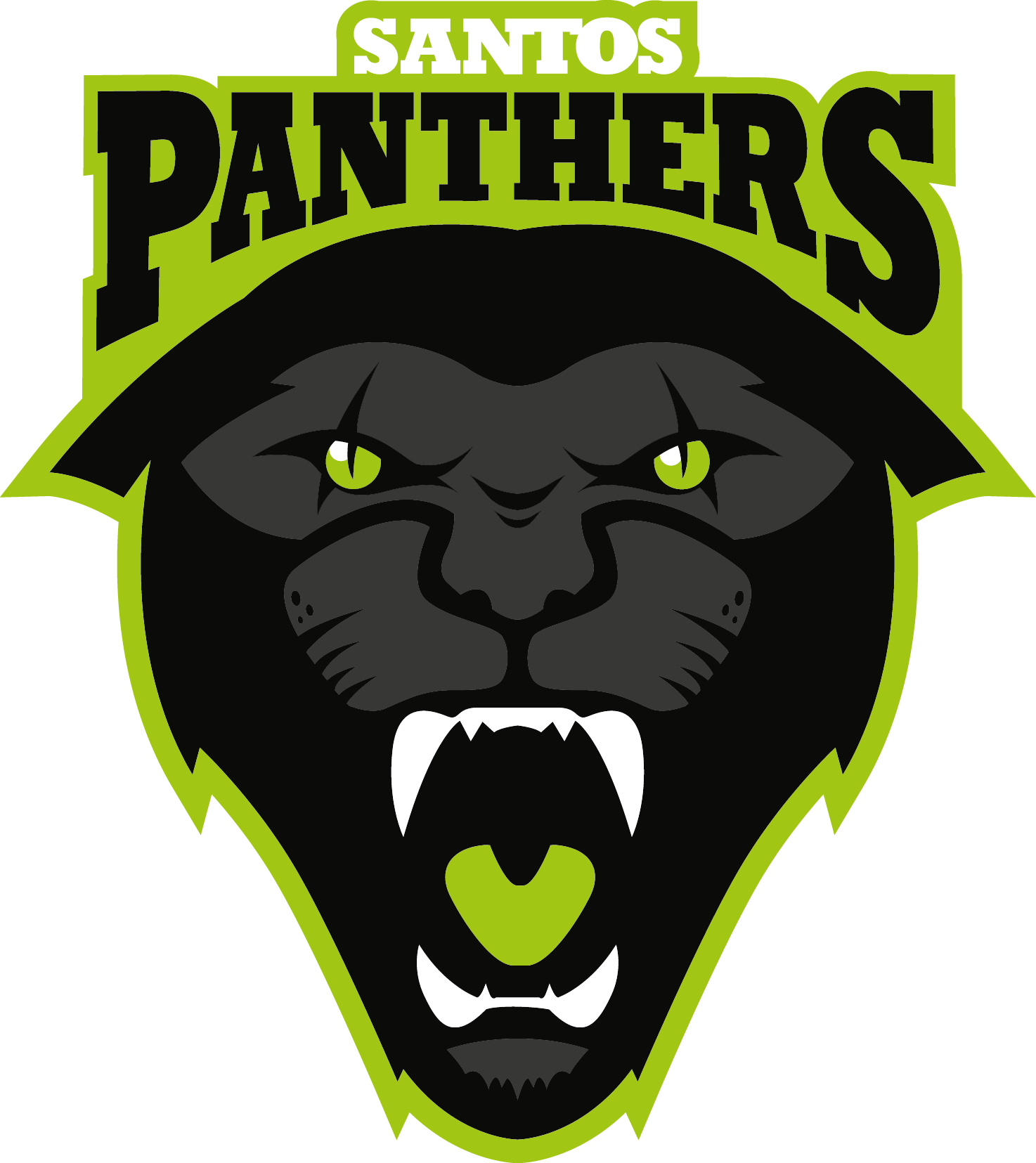 Panther with football clipart clip art library library Santos Panthers Football Club clip art library library