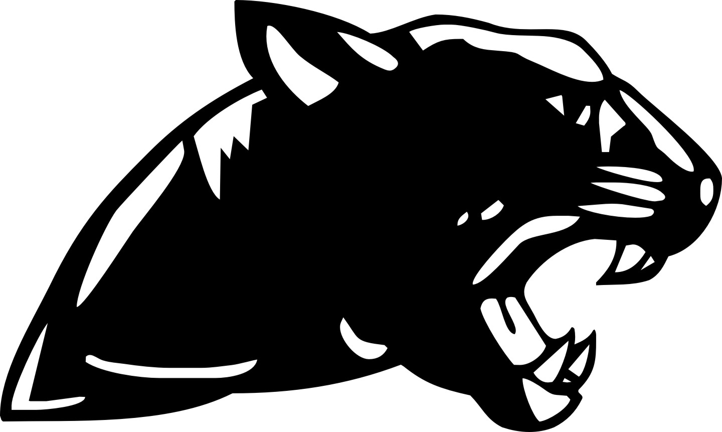 Panther mascot clipart black and white banner royalty free download Free Panther Clipart, Download Free Clip Art, Free Clip Art on ... banner royalty free download