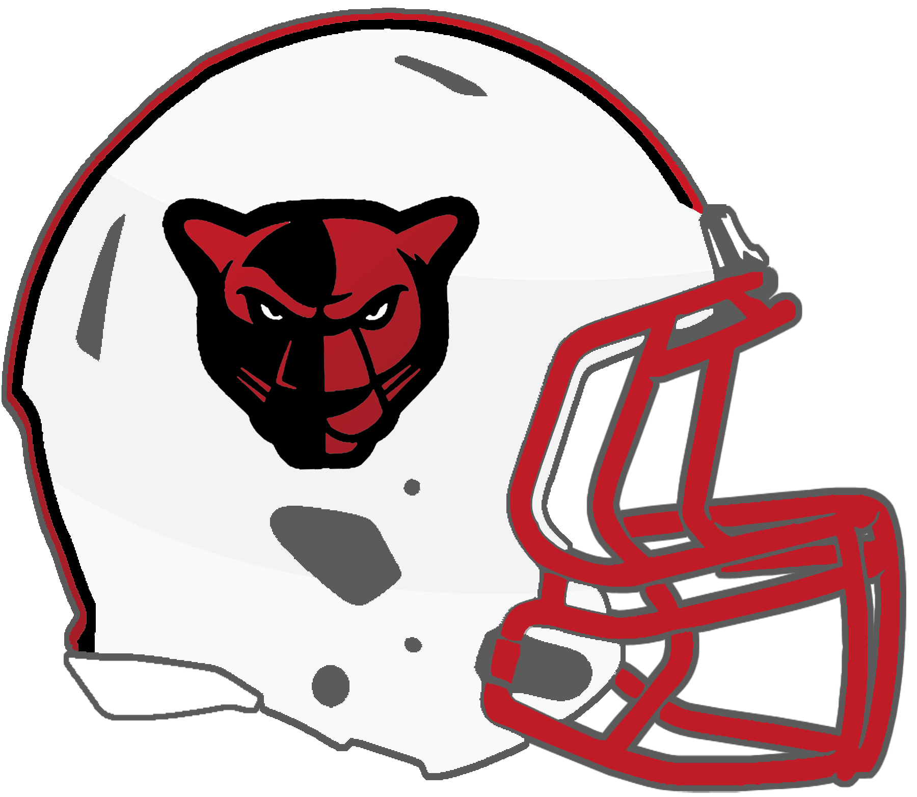 Panthers football helmet clipart banner royalty free download Mississippi High School Football Helmets: 6A banner royalty free download