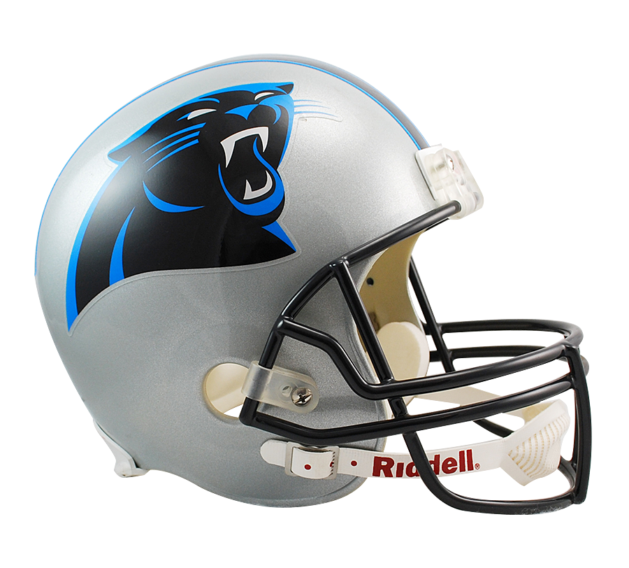 Panthers football helmet clipart jpg freeuse library Riddell DeLuxe Replica Helmet - American Football Equipment ... jpg freeuse library