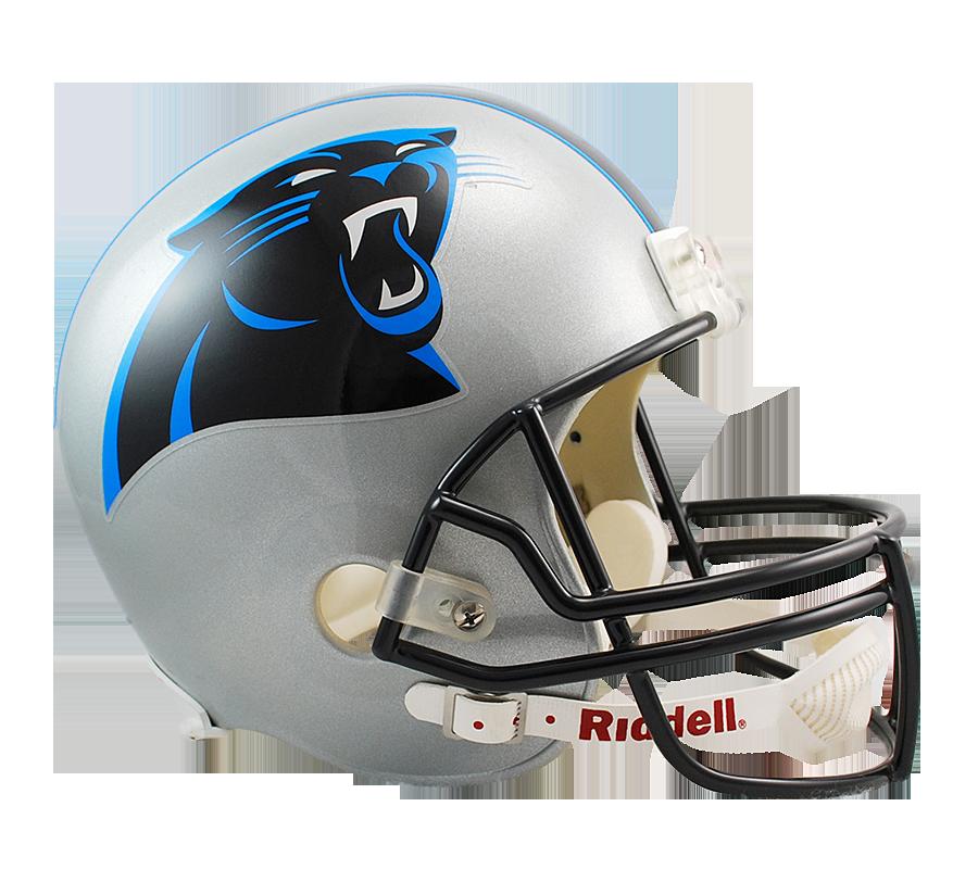 Panthers football helmet clipart jpg freeuse library Riddell DeLuxe Replica Helmet - American Football Equipment ... jpg freeuse library