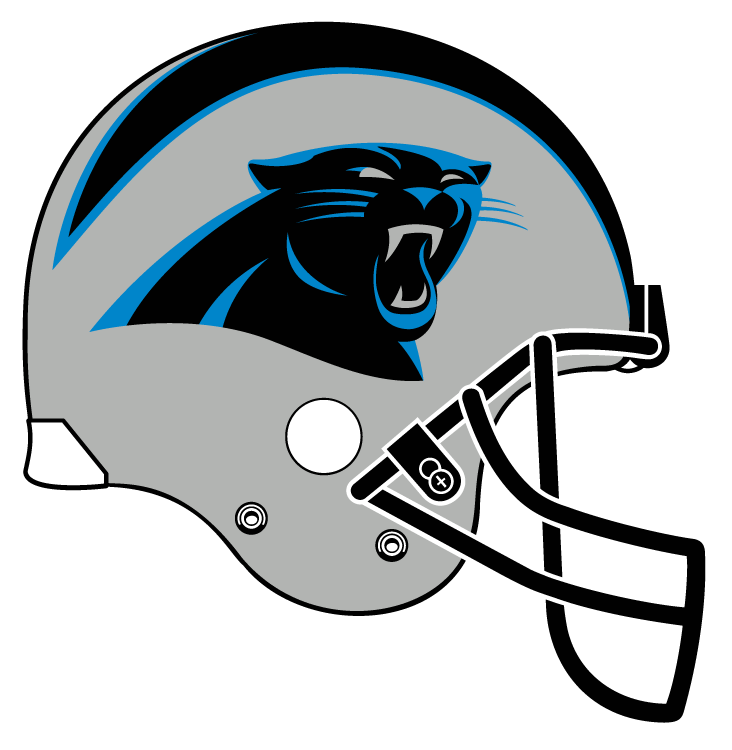 Panthers football helmet clipart picture library ColorWerx: 2013 NFL Helmet Right-Side-View sRGB-Optimized Graphics ... picture library
