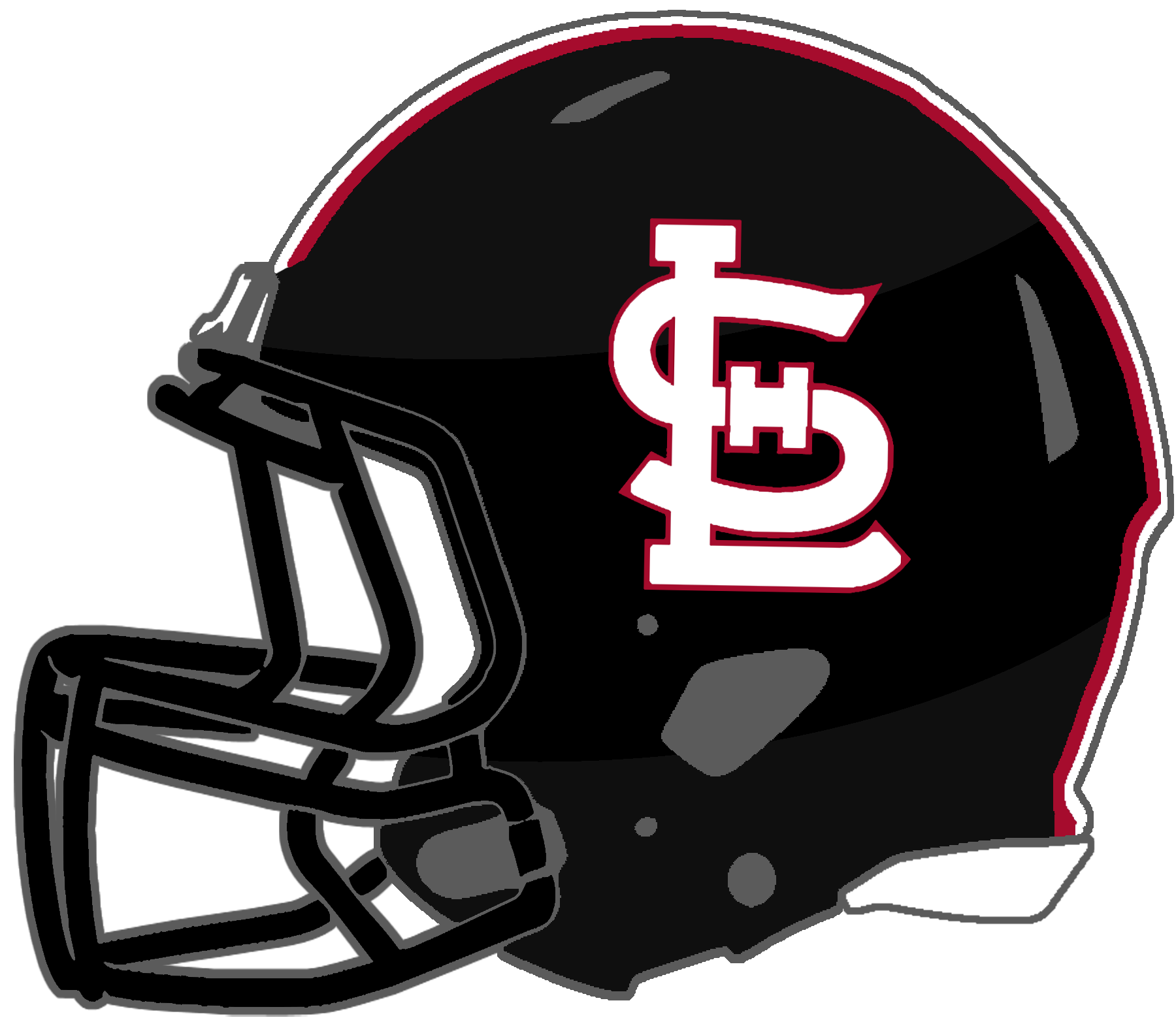 Panthers football helmet clipart free Mississippi High School Football Helmets: 1A free
