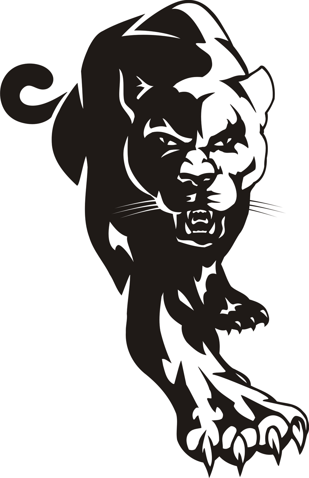 Panthers number 1 clipart graphic download Panther Clip Art & Panther Clip Art Clip Art Images - ClipartALL.com graphic download