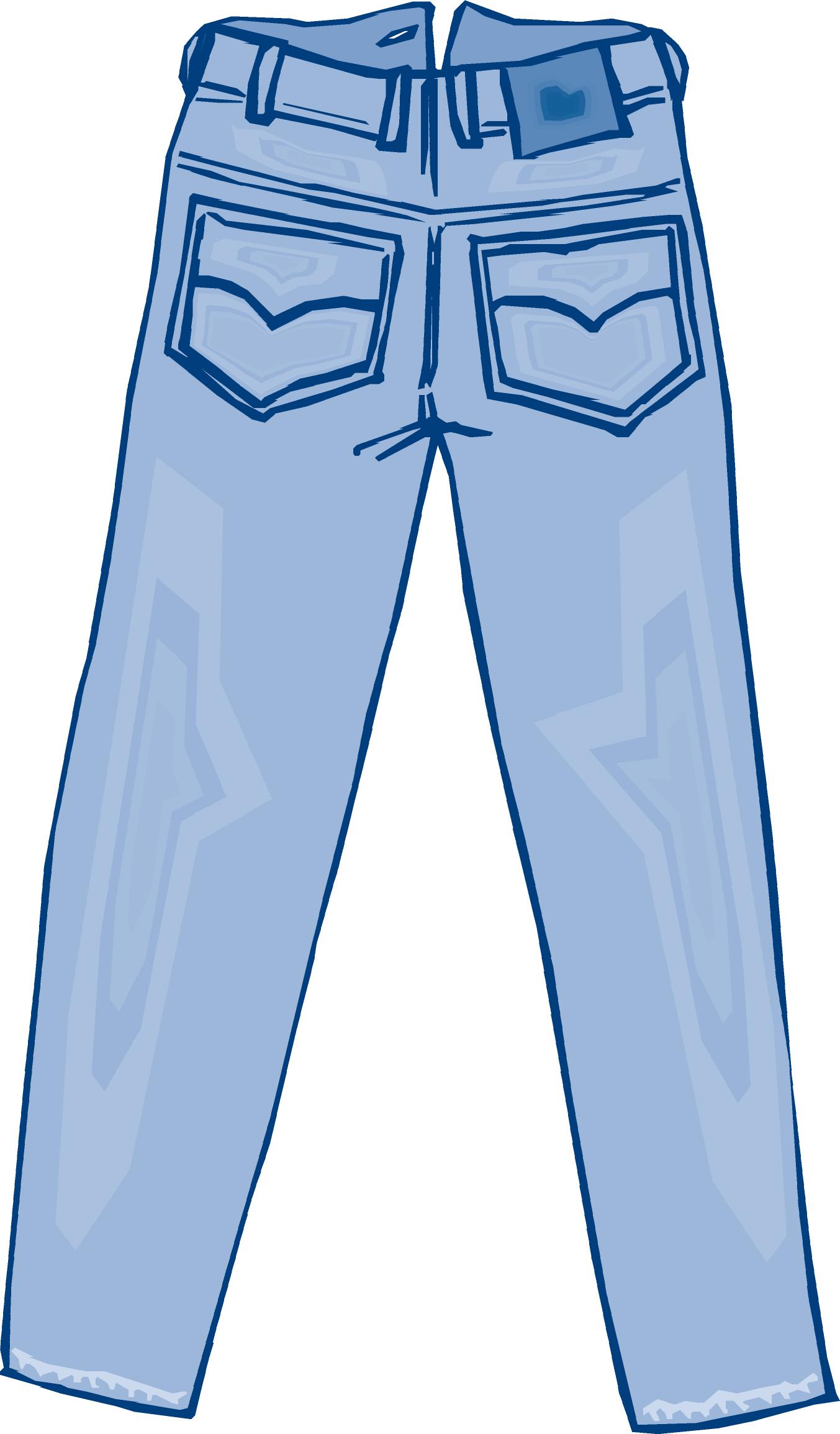 Pants pocket clipart clip library download El blue jean - blue jeans | Hombre de vocabulario | Jeans ... clip library download