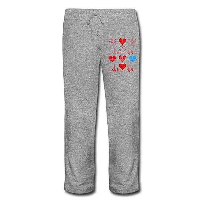 Pants pocket clipart jpg library stock Amazon.com: Heart Beat Clipart Women\'s Drawstring Leisure ... jpg library stock