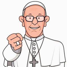Papa francisco clipart