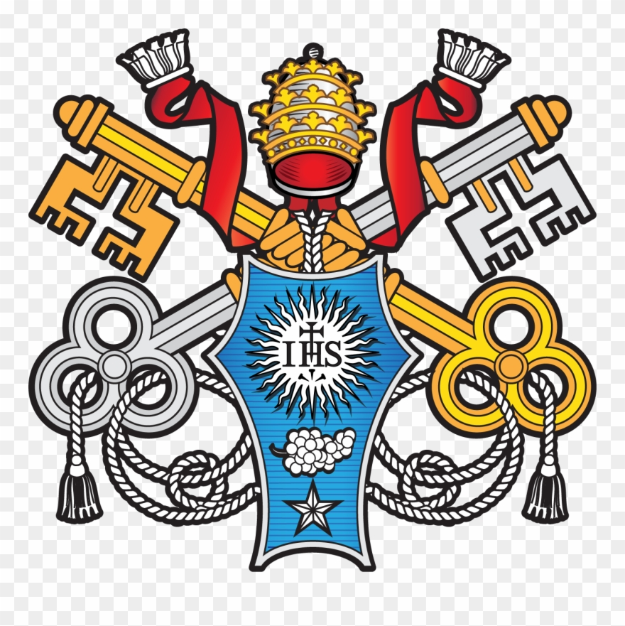 Papa francisco clipart graphic transparent download Escudo Papa Francisco - Pope Francis Clipart (#1142502 ... graphic transparent download