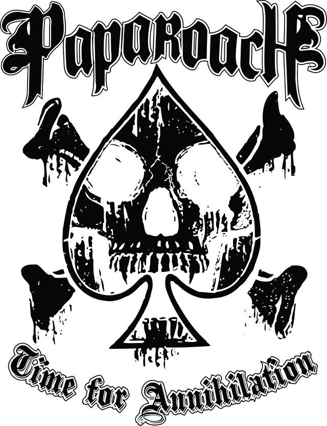 Papa roach clipart svg transparent library Pin by Punk Pedia on Papa Roach in 2019 | Papa roach ... svg transparent library