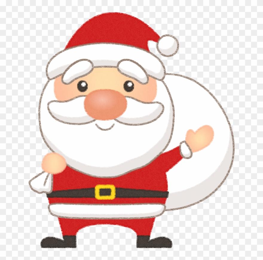 Papai noel clipart desenho png black and white download Christmas Parade - Molde De Papai Noel Em Eva Clipart ... png black and white download