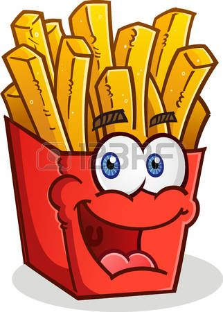 French Fries Clipart papas fritas 1 - 322 X 450 Free Clip ... vector freeuse library
