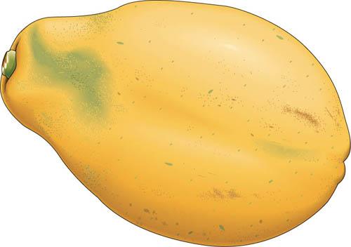Papaya clipart image black and white Free Papaya Cliparts, Download Free Clip Art, Free Clip Art ... image black and white