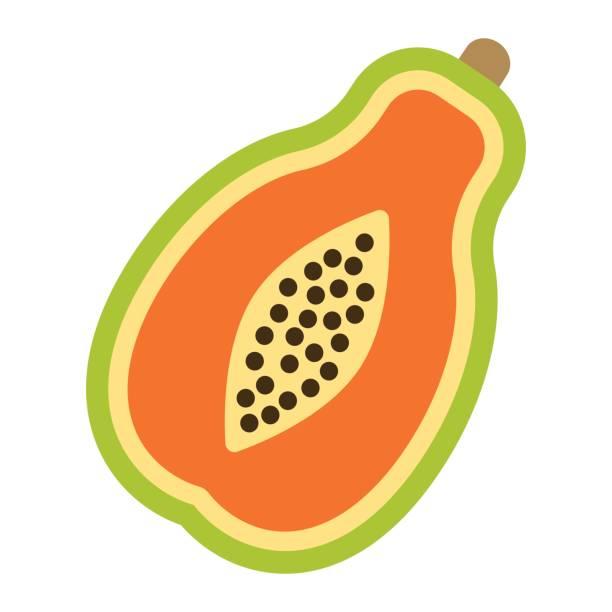 Papaya clipart image transparent library Papaya Clipart | Free download best Papaya Clipart on ... image transparent library