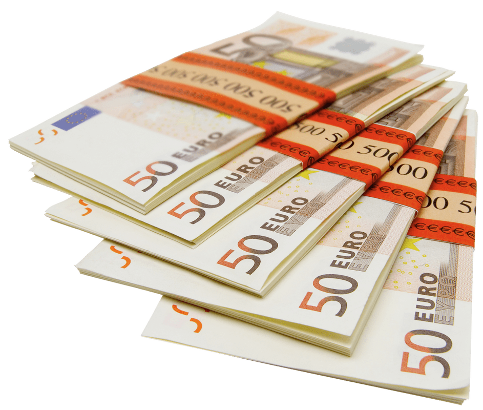 Stack of money clipart transparent banner transparent stock Pile Of 500 Euro Notes transparent PNG - StickPNG banner transparent stock