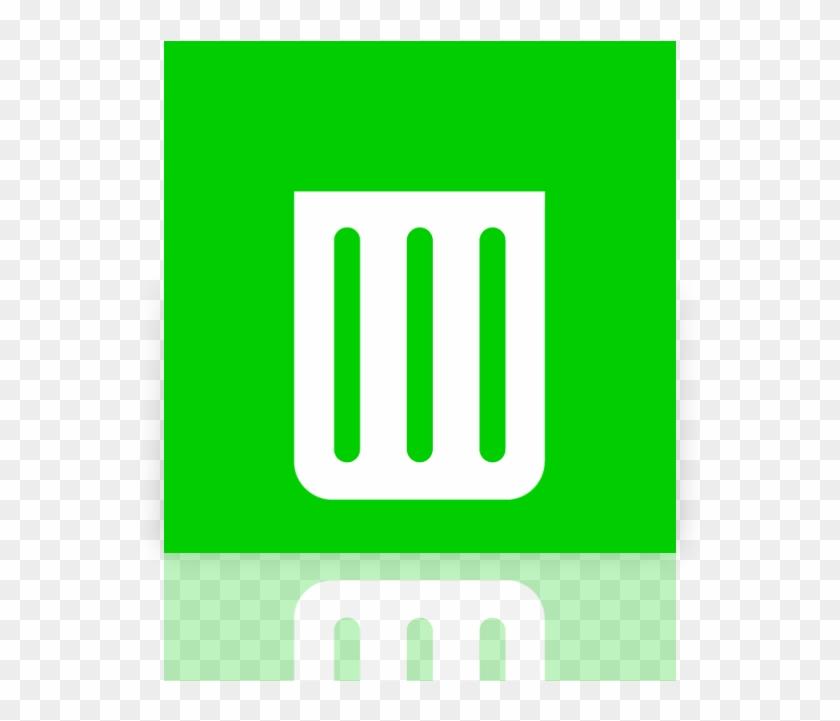 Papelera de reciclaje clipart svg black and white download Empty, Mirror, Recycle, Bin Icon - Papelera De Reciclaje Metro Icon ... svg black and white download