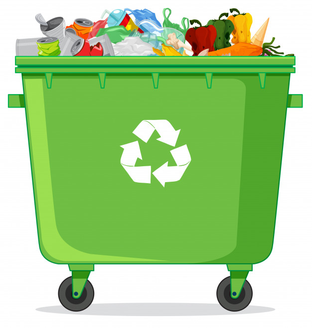 Papelera de reciclaje clipart image library library Una papelera de reciclaje | Descargar Vectores gratis image library library