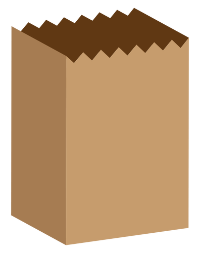 Paper bag vector clipart png black and white library Paper bag vector image | Public domain vectors png black and white library