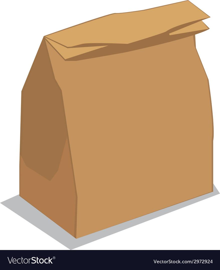Paper bag vector clipart clipart black and white stock Paper bag clipart black and white stock