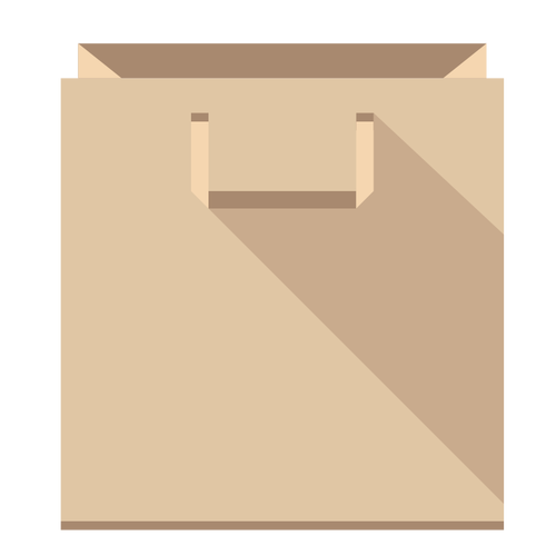 Paper bag vector clipart graphic freeuse 22+ Paper Bag Clipart | ClipartLook graphic freeuse