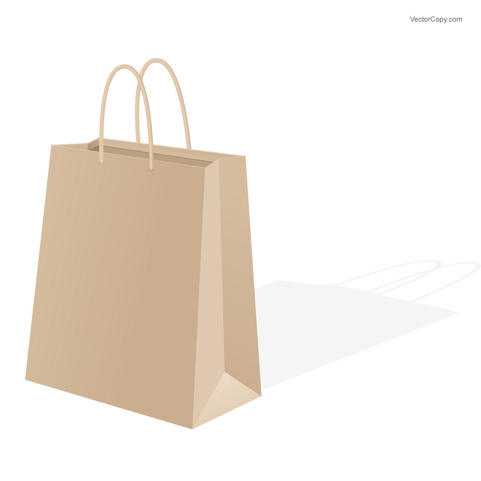 Paper bag vector clipart clipart transparent Paper shopping bag, download free vector images | Free Download ... clipart transparent