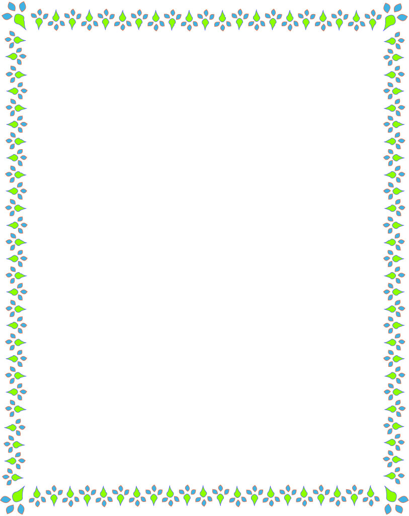 Paper borders clip art vector royalty free library Spring Border Clipart - Clipart Kid vector royalty free library