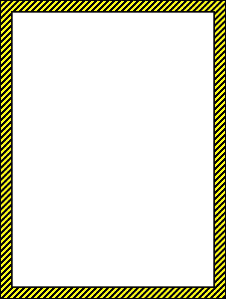 Paper borders clip art svg transparent Safety borders clip art - ClipartFest svg transparent