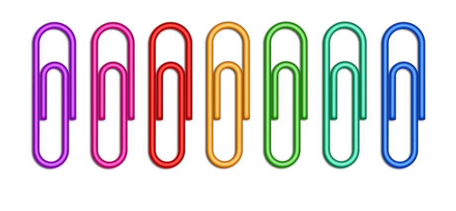 Paper clips clipart graphic royalty free library Paper Clips Png - Clips De Papel Free PNG Images & Clipart ... graphic royalty free library