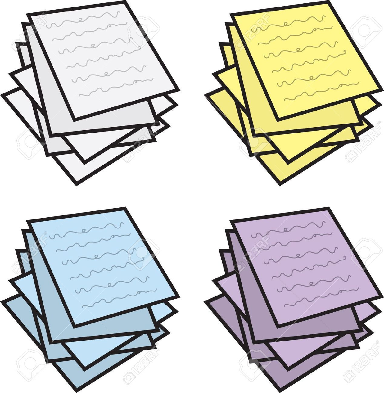 Paper pile clipart jpg library library Paper pile clipart 2 » Clipart Portal jpg library library