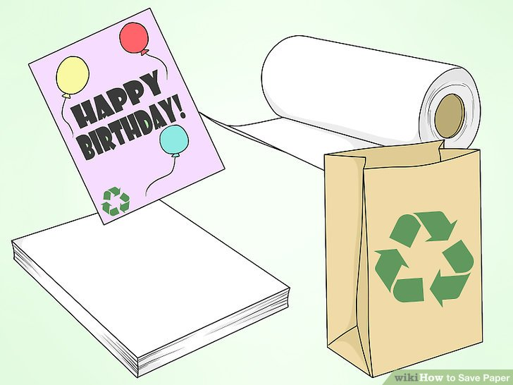 Paper products clipart vector free library How to Save Paper (with Pictures) - wikiHow vector free library