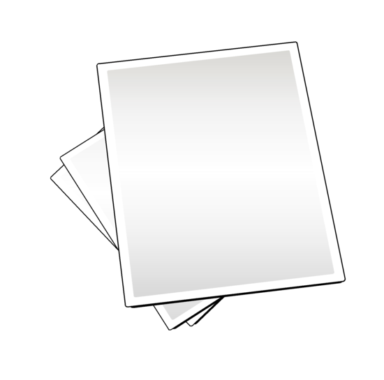 Paper sheets clipart banner Free Paper Sheets Clipart Image banner