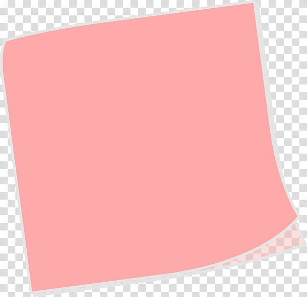 Paper sticker clipart picture free download Pink paper , Post-it note Paper Sticker , sticky notes ... picture free download