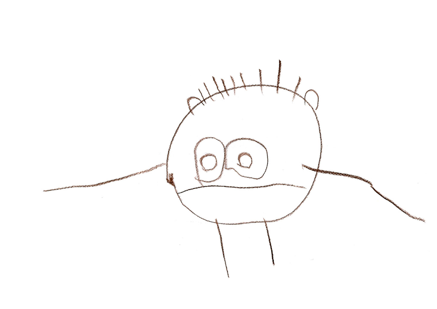 Paper to draw on with crayons clipart jpg library stock File:Child drawing age 3 crayon on paper.jpg - Wikimedia Commons jpg library stock