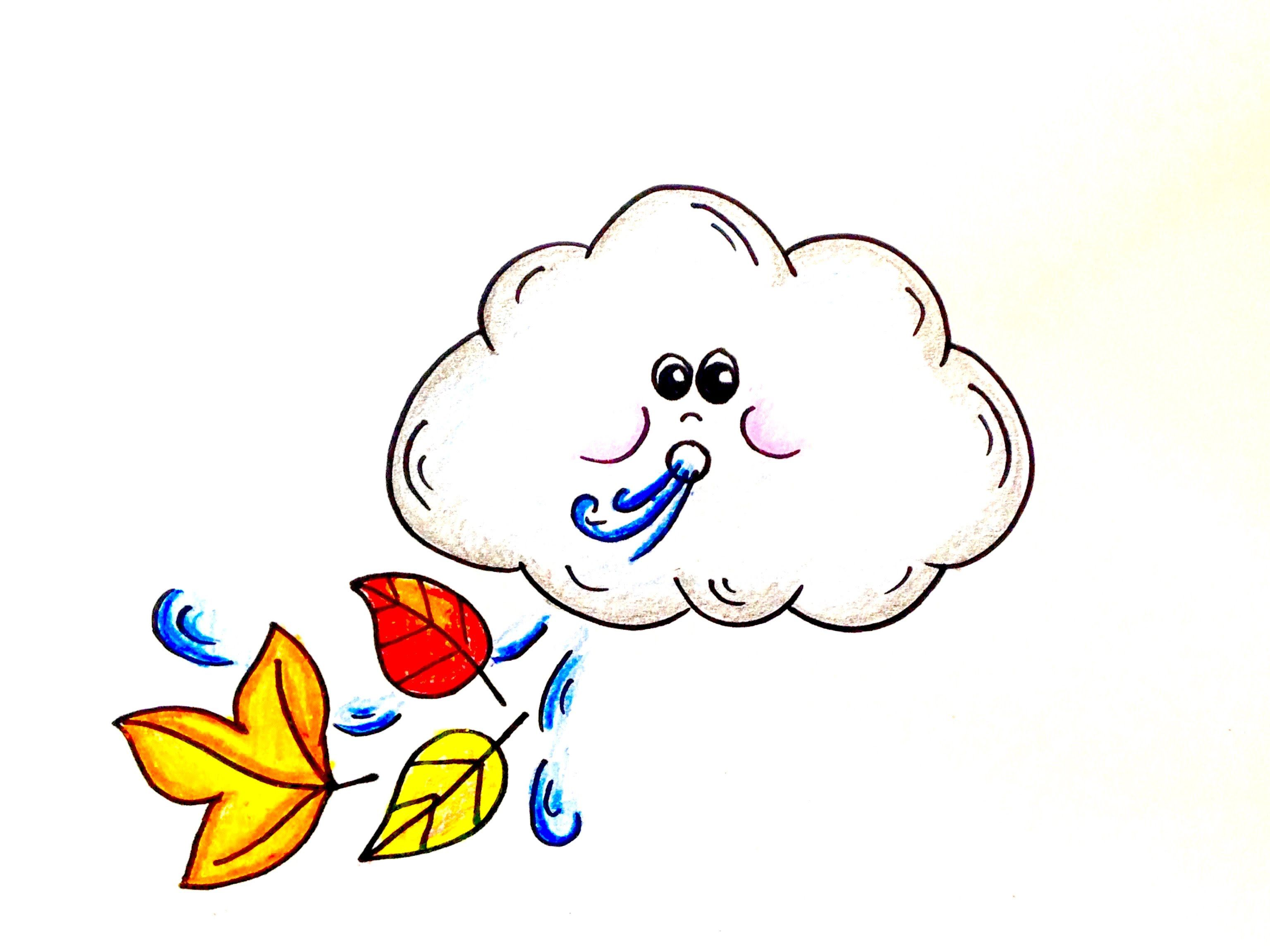 Paper to draw on with crayons clipart svg transparent stock Drawing Lesson: How to Draw a Windy Day Cloud. Grab paper ... svg transparent stock