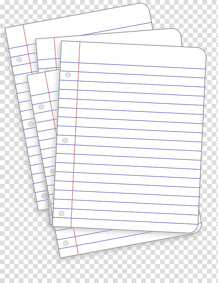 Paper transparent clipart image black and white download Ruled paper Notebook , Paper transparent background PNG clipart ... image black and white download