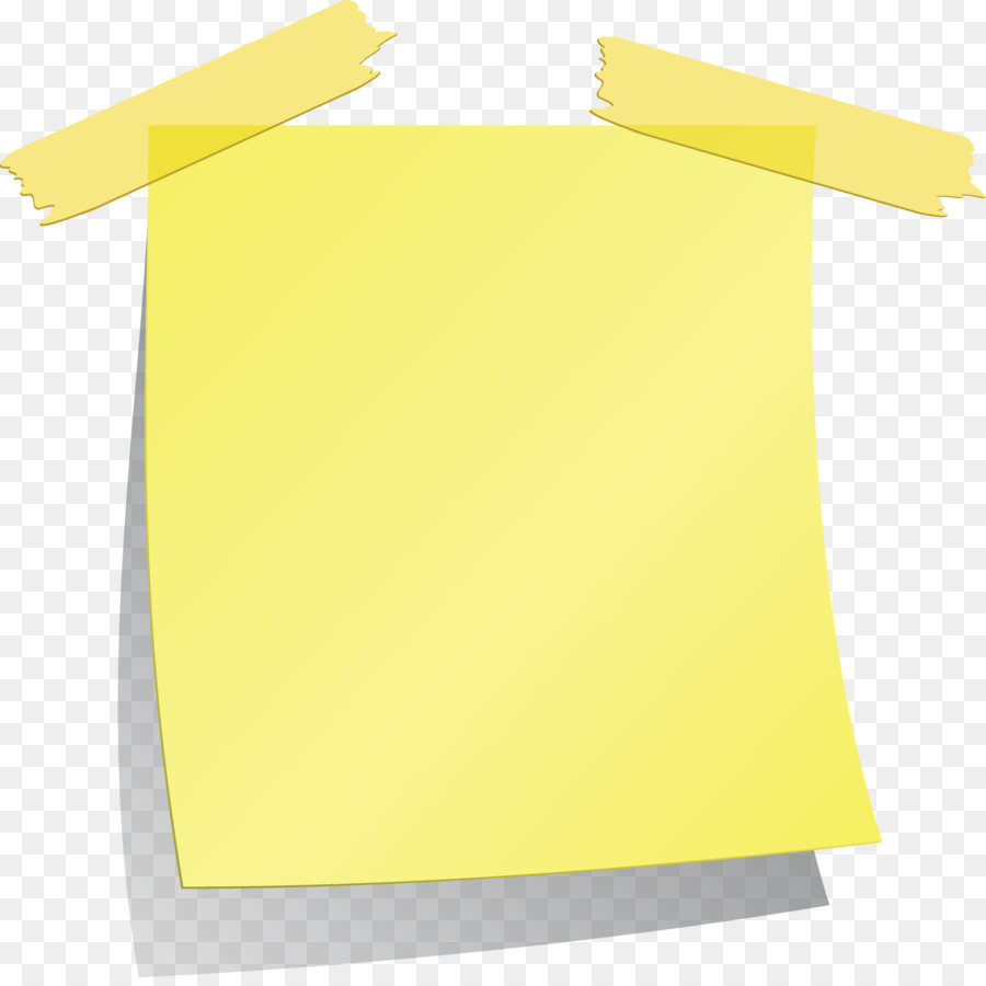 Paper with tape clipart jpg library Paper Tape clipart - Paper, Sticker, Yellow, transparent ... jpg library