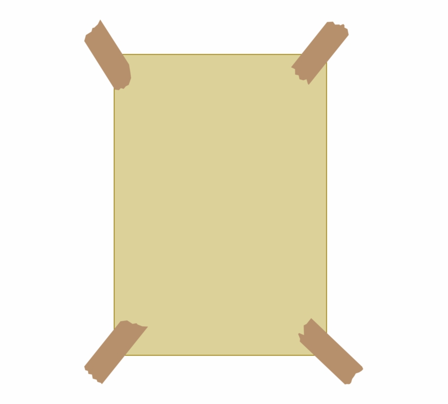 Paper with tape clipart vector royalty free library Adhesive Tape Paper Picture Frames Masking Tape Free - Paper ... vector royalty free library