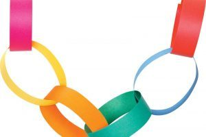Paperchain clipart freeuse Paper chain clipart 3 » Clipart Portal freeuse