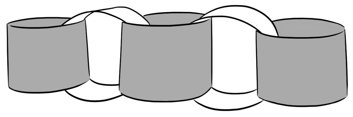 Paperchain clipart clip free stock Paper Chain Clipart clip free stock