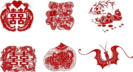 Papercut vector clipart clip library stock Free Traditional Papercut Clipart and Vector Graphics ... clip library stock